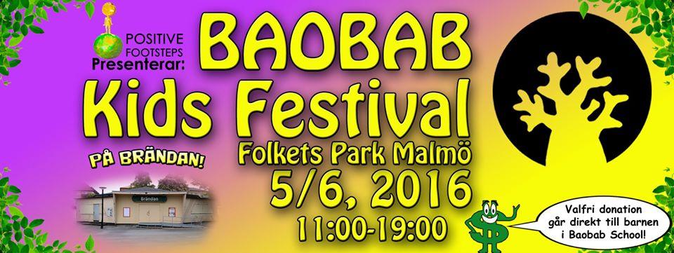 Baobab Kids Festival – Malmö Folkets Park