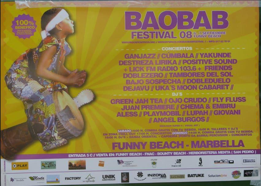 Baobab Festival 2008 – Marbella, Spain