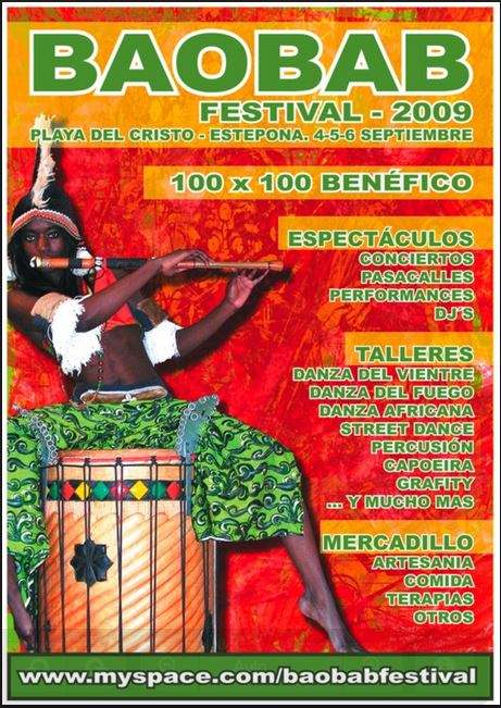 Baobab Festival 2009 – Estepona, Spain