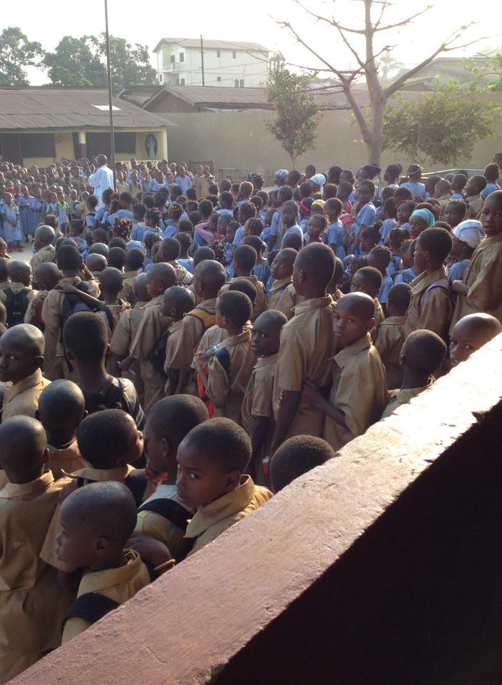 Baobab School – efter Ebolan – 624 barn får skolgång