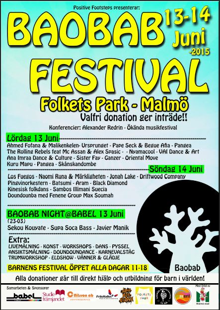 Baobab Festival – Malmö Folkets Park