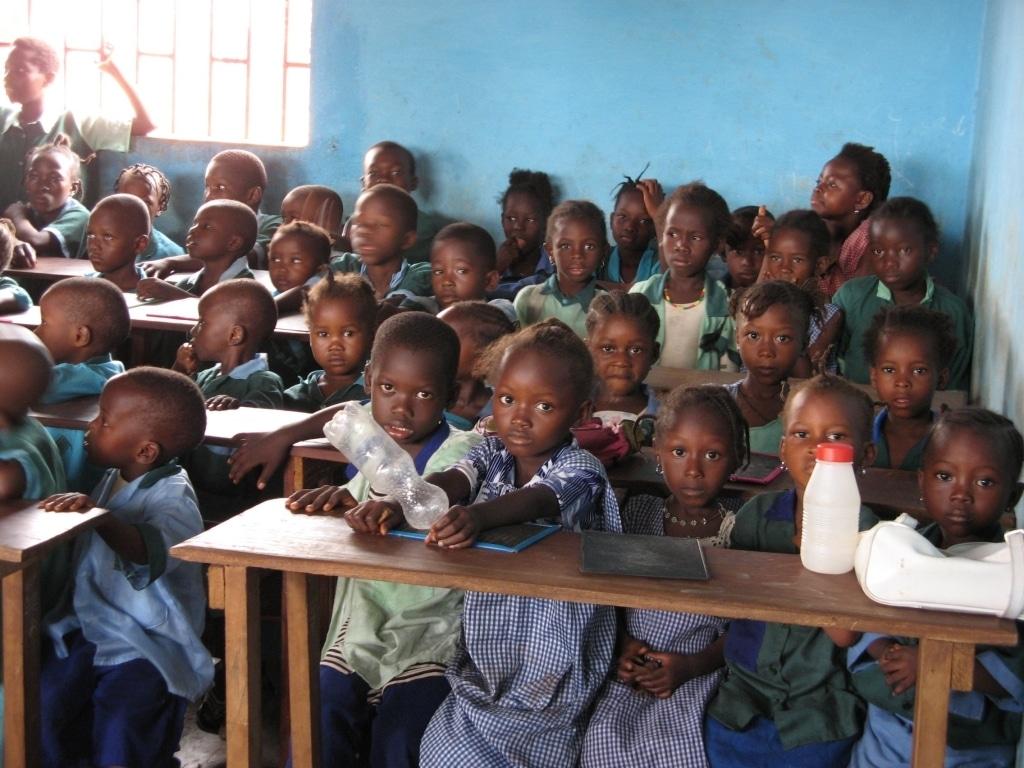 Baobab School 40 barn får utbildning
